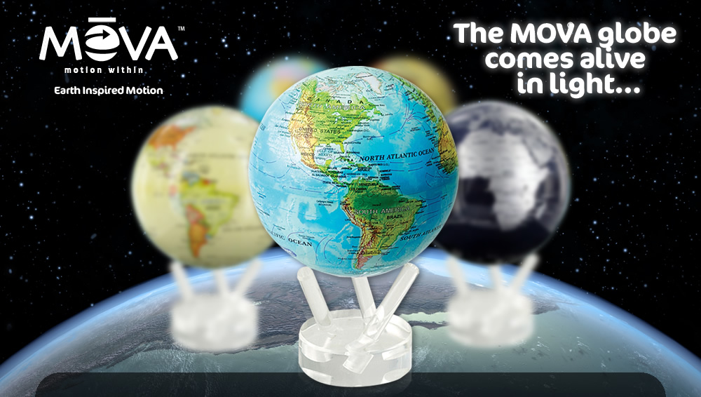 MOVA Globe Earth Inspired Motion